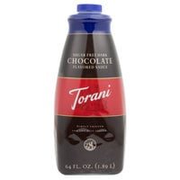 Torani 64 oz. Sugar Free Dark Chocolate Flavoring Sauce
