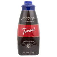 Torani 64 oz. Sugar Free Dark Chocolate Flavoring Sauce