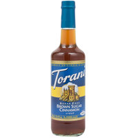 Torani 750 mL Sugar Free Brown Sugar Cinnamon Flavoring Syrup