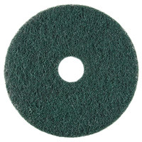 Scrubble by ACS 73-10 10 inch Emerald Hy-Pro Stripping Floor Pad - Type 73 5 / Case