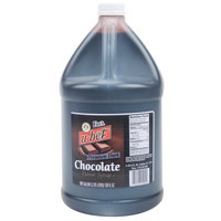 Fox's Premium 1 Gallon Dark Chocolate Syrup - 4/Case