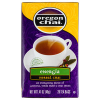 Oregon Chai Energia Herbal Chai Tea Bags - 20 / Box
