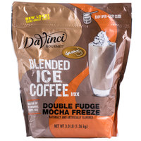 DaVinci Gourmet Ready to Use Double Fudge Mocha Freeze Mix - 3 lb.