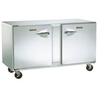 Traulsen ULT60-LR-SB 60 inch Undercounter Freezer with Left and Right Hinged Doors and Stainless Steel Back - 16.7 Cu. Ft.