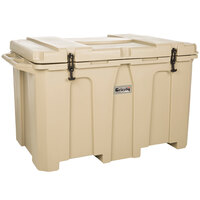 Tan 400 Qt. Extreme Outdoor Grizzly Merchandiser / Cooler