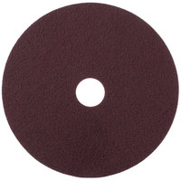 Scrubble by ACS 47-20 20 inch Maroon Thin Line Conditioning Pad - Type 47 - 10/Case