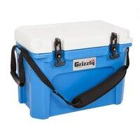 Blue 16 Qt. Extreme Outdoor Grizzly Merchandiser / Cooler