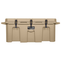 Tan 150 Qt. Extreme Outdoor Grizzly Merchandiser / Cooler