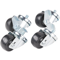 Traulsen CASTER-SET3IN 3 1/2 inch Swivel Casters for 27 inch, 32 inch and 48 inch U-Series Refrigerators and Freezers - 4 / Set