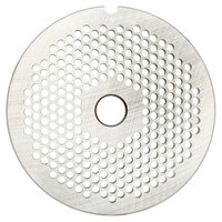 Hobart 22PLT-1/8C #22 1/8 inch Carbon Steel Grinder Plate for 4822 Meat Choppers and Chopping Ends