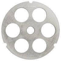 Hobart 3246PLT-1/2C #32 1/2 inch Carbon Steel Grinder Plate for 4146, 4246, 4732, MG2032, and MG1532 Meat Grinders / Choppers