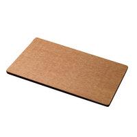 San Jamar TC121812 12 inch x 18 inch x 1/2 inch Tuff-Cut Cutting Board
