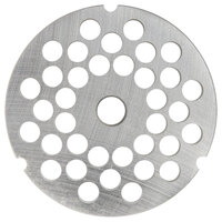 Hobart 3246PLT-1/4C #32 1/4 inch Carbon Steel Grinder Plate for 4146, 4246, 4732, MG2032, and MG1532 Meat Grinders / Choppers