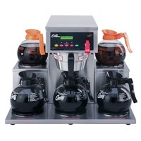 Curtis ALP5GT12A000 12 Cup Coffee Brewer with 5 Lower Warmers - 120V