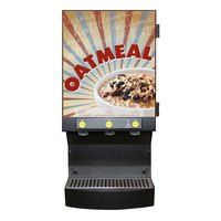 Curtis Cafe Series CAFEOAT3 Oatmeal Dispensing System with Three Hoppers - 120V