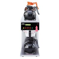 Curtis ALP3GT12A000 12 Cup Coffee Brewer with 1 Lower and 2 Upper Warmers - 120V