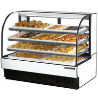 True TCGD-59 59 inch White Dry Bakery Display Case - 28 Cu. Ft.