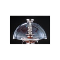 Apex 4107-AL 21 inch Beverage Fountain Sneeze Guard Dome for SS Fountains