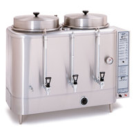 Curtis RU-600-12 Automatic Twin 6 Gallon Coffee Urn - 120/220V