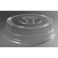 12 5/8 inch Plastic Cut Crystal Dome 50/Case