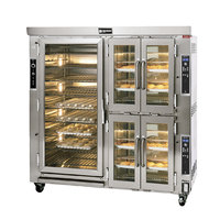 Doyon JAOP12SL Two Section Jet Air Electric Oven Proofer Combo with Side Pan Loading - 240V, 24.5 kW