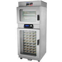 NU-VU OP-3/9A Double Deck Electric Oven Proofer Combo with Programmable Controls - 208V, 1 Phase, 5.2 kW