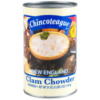 Chincoteague Condensed New England Clam Chowder - 51 oz. Can