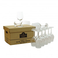 10 Strawberry Street CATERING-12(WINE) Catering Packs Set of 12 16 oz. Wine Glasses - 2 Sets / Case