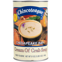 Chincoteague 51 oz. Cream of Crab Soup - 6/Case