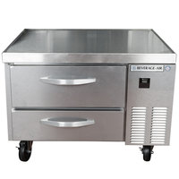Beverage-Air WTRCS36-1 36 inch Two Drawer Refrigerated Chef Base - 8.5 cu. ft.