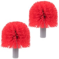 Replacement Brush Heads BBRHR for Unger Ergo Toilet Bowl Brush 2 / Pack
