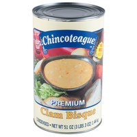 Chincoteague 51 oz. Condensed Clam Bisque - 6/Case