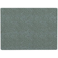 Grosfillex 99530025 24 inch x 32 inch Granite Green Rectangular Molded Melamine Outdoor Table Top