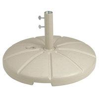 Grosfillex US602166 Sandstone Resin Umbrella Base for Table Use