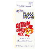 Great Western .5 Gallon Pina Colada Cotton Candy Floss Sugar