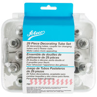 Ateco 782 29-Piece Stainless Steel Pastry Tube Decorating Set (August Thomsen)