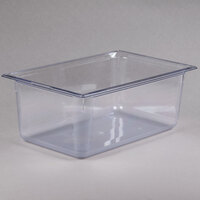 Vollrath 8008410 Full Size Clear Polycarbonate Food Pan - 8 inch Deep