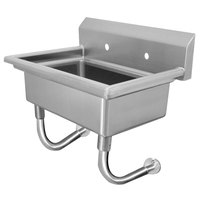 Advance Tabco FS-WM-48 Wall Mount Multi-Station Hand Sink 48 inch with 8 inch Deep Bowl