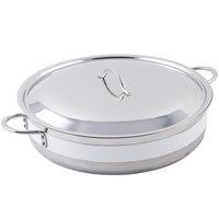 Bon Chef 60032CLD Cucina 9 Qt. White Brazier Pot with Cover