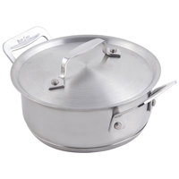 Bon Chef 60025 Cucina 40 oz. Stainless Steel Pan with Lid