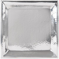 American Metalcraft HMSQ18 18 inch Hammered Square Tray