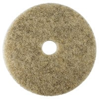 Scrubble by ACS 35-19 Type 35 19 inch Hair Blend Heavy Burnishing Floor Pad - 5/Case