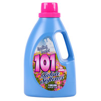 1 Gallon James Austin's 101 Concentrated Spring Fresh Fabric Softener - 4/Case