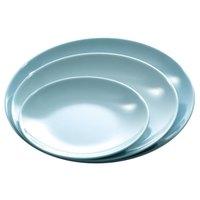 Blue Jade 13 3/4 inch Round Melamine Plate - 12/Case
