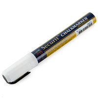 American Metalcraft BLSMA510WT Securit All-Purpose Small Tip White Marker - 2 / Pack