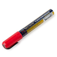 American Metalcraft BLSMA510RD Securit All-Purpose Small Tip Red Marker - 2 / Pack