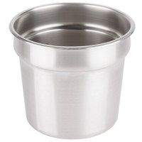 Vollrath 78184 Stainless Steel 7.25 Qt. Vegetable Inset