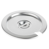 Vollrath 78180 Stainless Steel Slotted Cover for 7.25 Qt. Inset