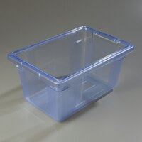 Carlisle 10612C14 StorPlus Blue Food Storage Box - 18 inch x 12 inch x 9 inch