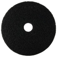 Scrubble by ACS 72-21 Type 72 21 inch Black Stripping Floor Pad - 5/Case